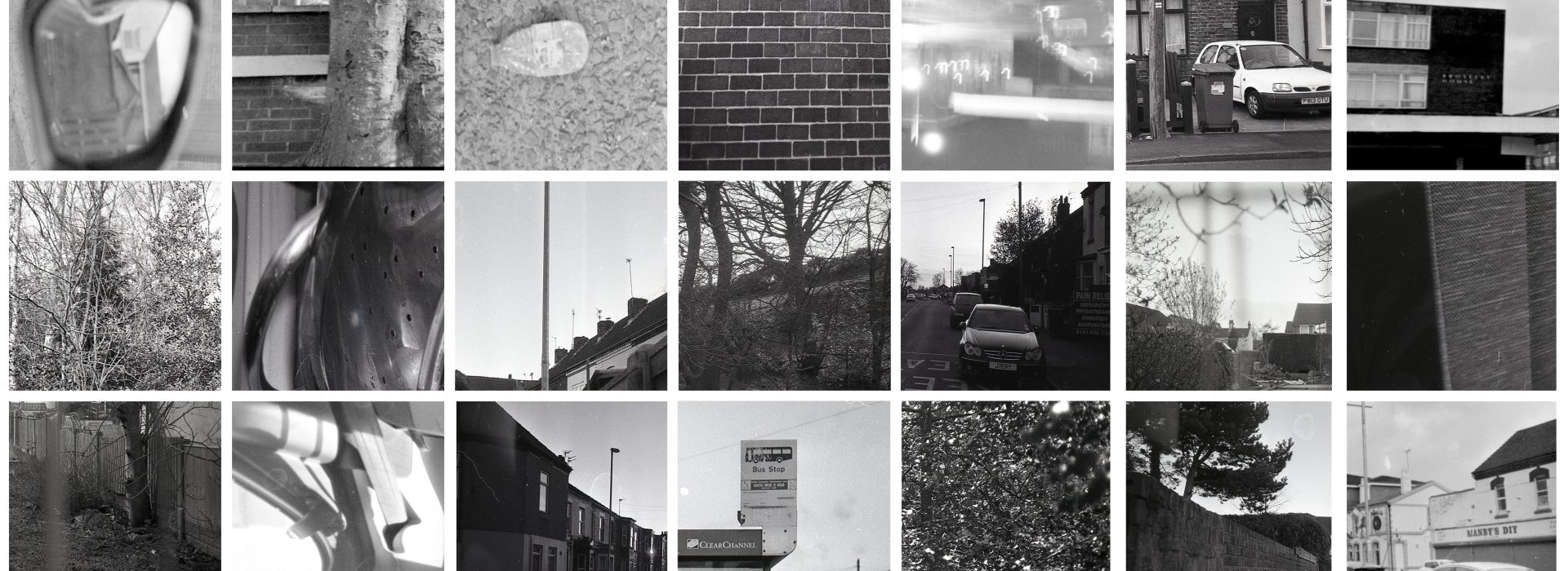 A Level Photography student collection of image