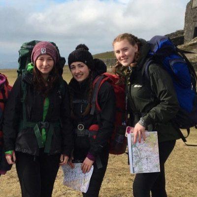 Duke of Edinburgh gold award seven hour walk