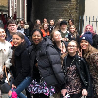 English Language London trip