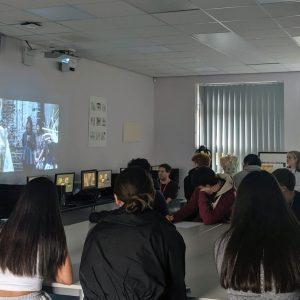 Central St Martins visits Art students