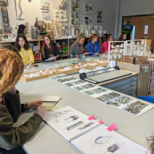 Salford Uni Fashion Course Workshop