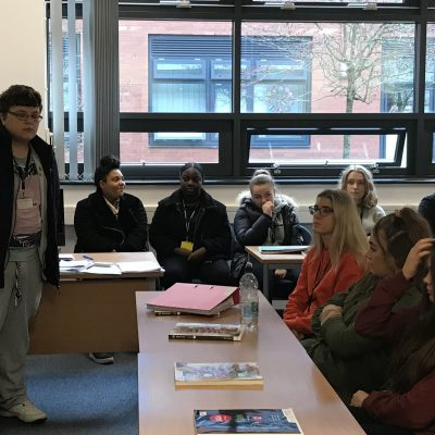 Former student returns to inspire Lower Sixth about Law