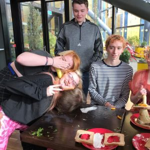 Performing Arts students visit HOME