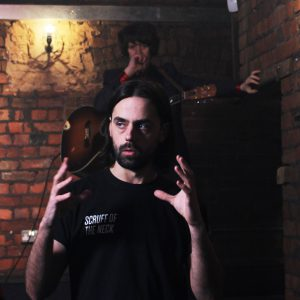 Student photographs music video for local artist