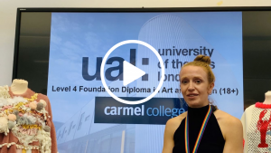 UAL Art Foundation Course Introduction video