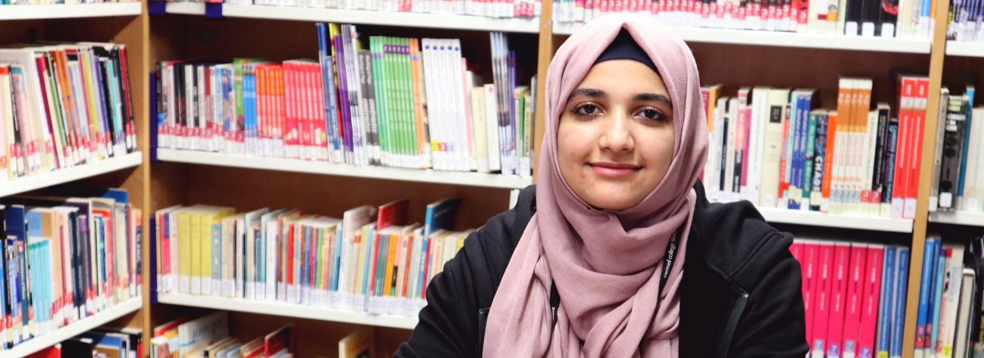 Carmel College, Jouriya's journey from Syria to UK